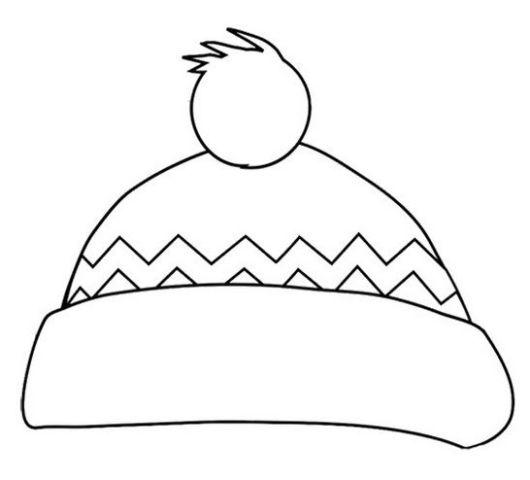 winter-hat-coloring-book