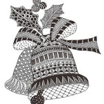 zentangle-christmas-bells-print-out-drawing