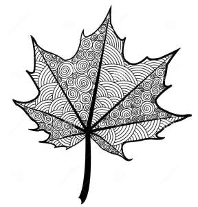 zentangle-maple-leaf-coloring-page