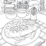 Coloring-Europe-Charming-London-Delicious-Foods