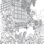Coloring-Europe-Charming-London-House-Coloring-Page