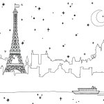 Eiffel-Tower-Landscape-Coloring-Pages