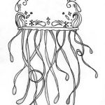Jellyfish-print-out-drawing