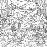 Legendary-Landscapes-Coloring-Book-Woodlands