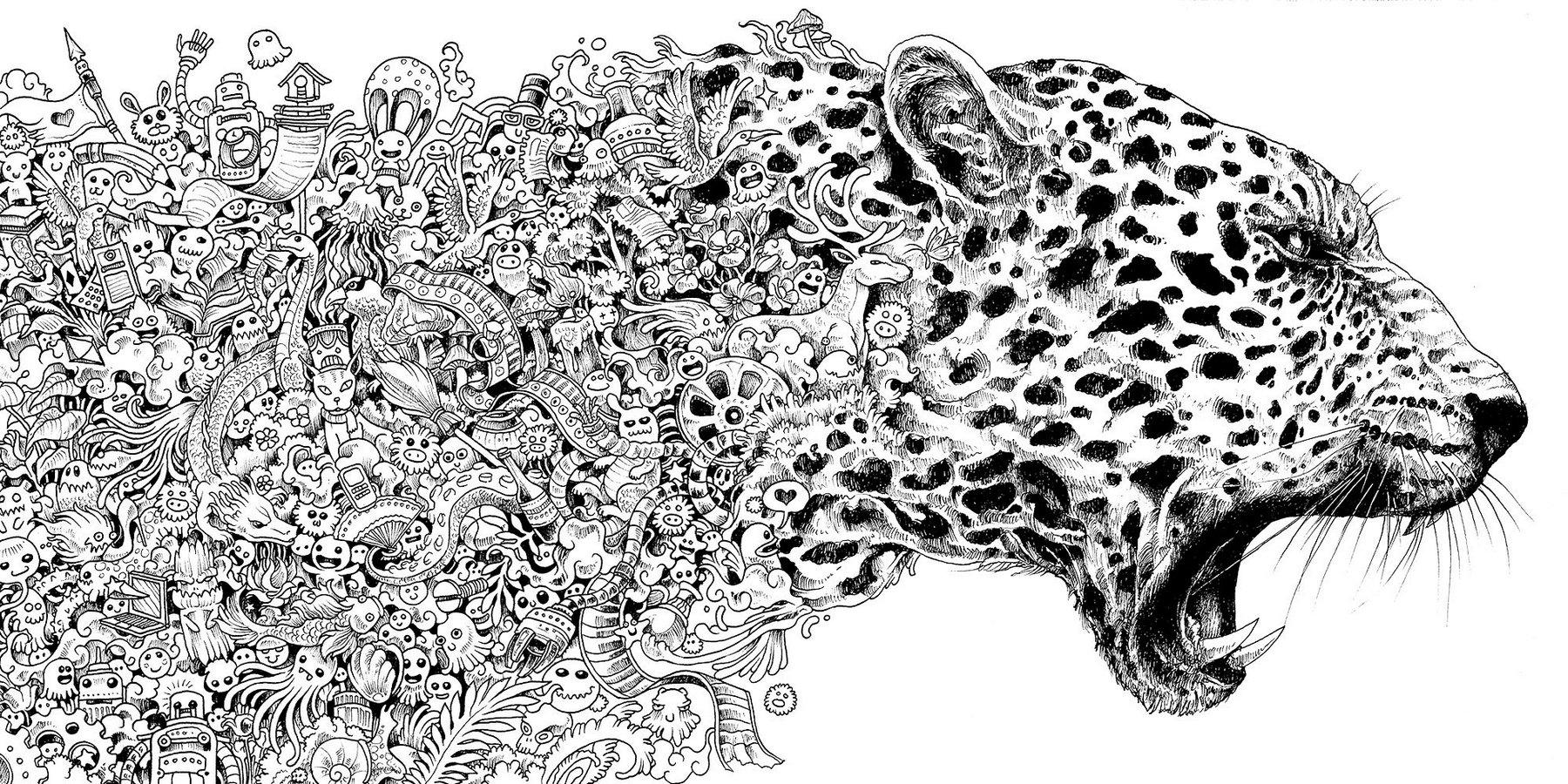 Mythomorphia-tiger-coloring-book