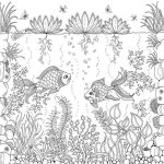 Under of Ocean coloring page