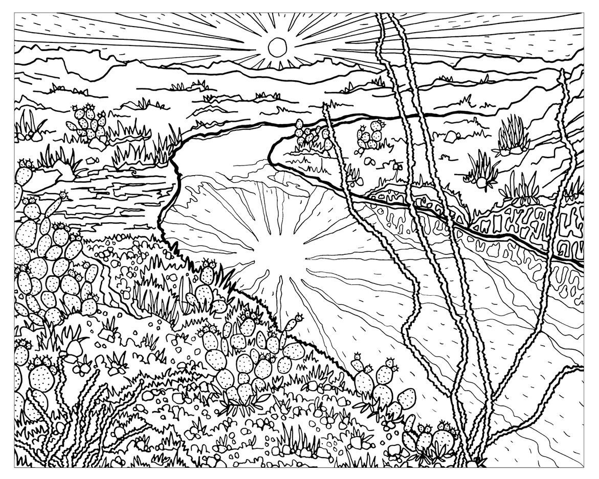 The-Sierra-Club-National-Parks-Coloring-Sheet