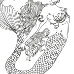 Realistic-Mermaid-Art-Design