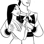 Mulan-Disney-Coloring-Pages