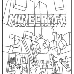 Minecraft World Coloring Complete