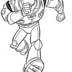 Buzz Lightyear Toy Story Coloring Page