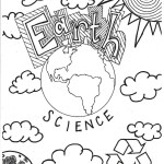 Earth Science Coloring Page