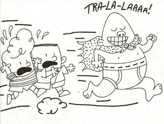 Captain Underpants The First Epic Movie Coloring Pages