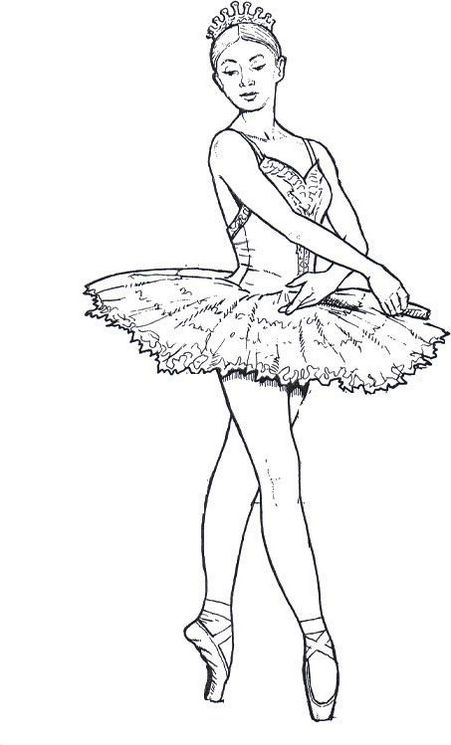 Ballerina coloring pages coloring pages for Dancers coloring pages