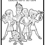 Fresh Beat Band Of Spies Group Coloring Pages