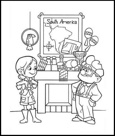 Up Coloring Pages Will Delight Young Adventurers Coloring Pages Up Coloring Pages