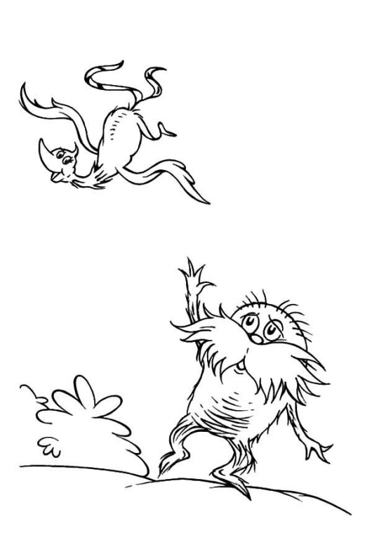 The Lorax Coloring and Activity Pages Coloring Pages