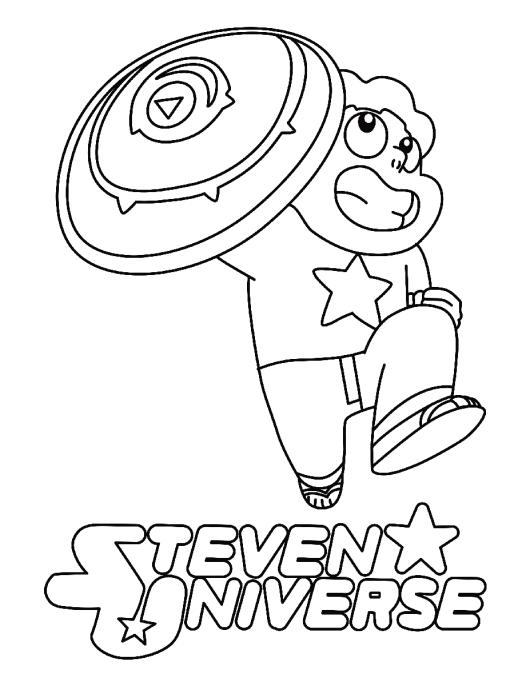 Steven Universe Coloring Pages Coloring Pages