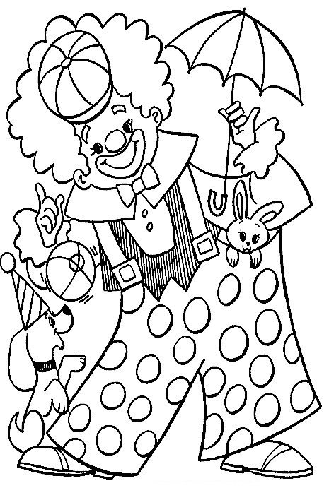 circus coloring pages 61