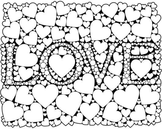 love for everyone coloring sheet