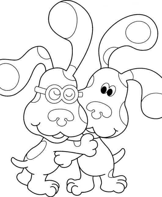 Blues Clues Coloring Page Printable