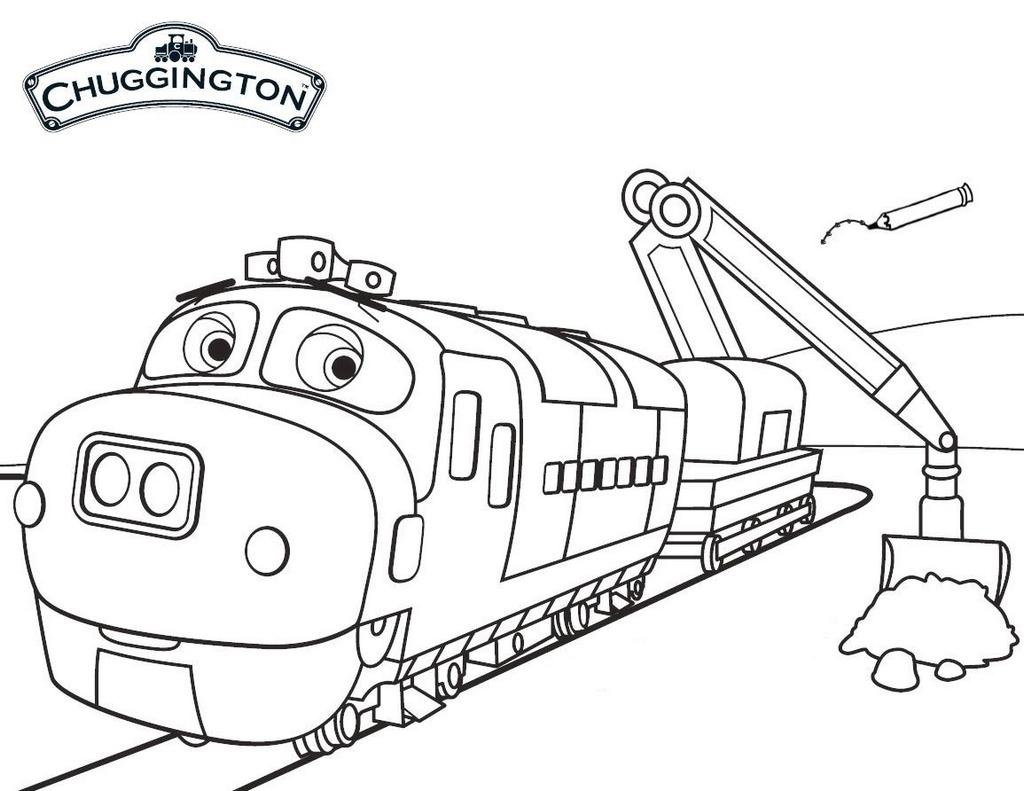 Encantador Chuggington Para Colorear Brewster Embellecimiento ...