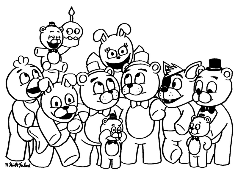 fnaf coloring pages for all fans of five nights at freddy s rh coloringpagesfortoddlers com fnaf coloring sheets to color fnaf coloring pages