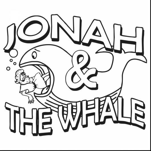 A Wonderful of Collection Stories, Jonah and the Whale Coloring ...