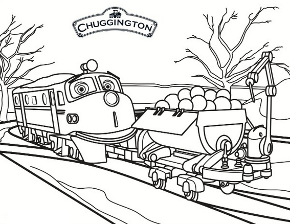 Wilson from Chuggington Coloring Book for Kids - Coloring Pages