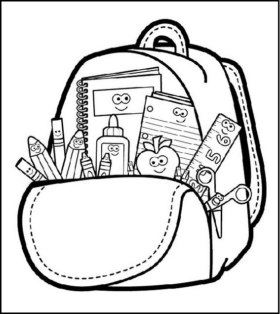 Top 10 Beautiful and Highly Detailed Backpack Coloring