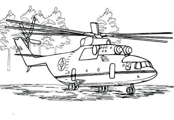 The new Super Fun Helicopter Coloring Pages For Kids And