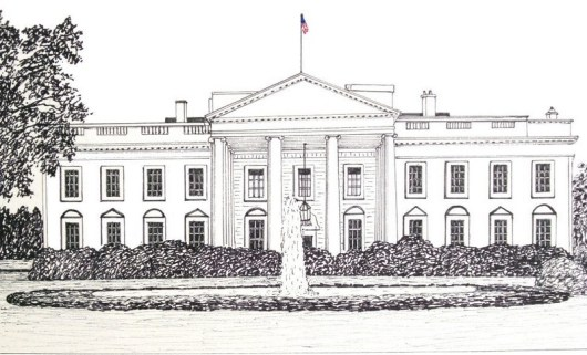 the Vibrant White House Coloring Page Ideas for a Creative