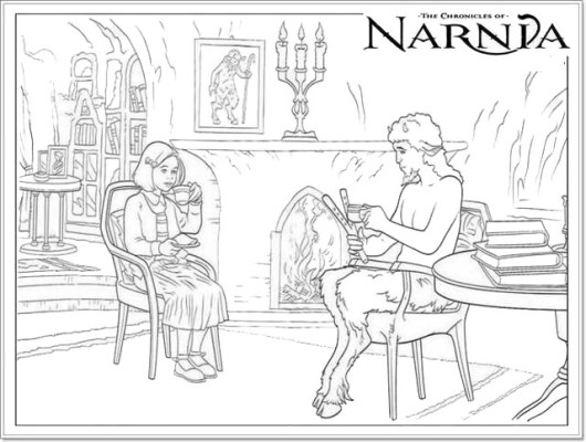 Narnia Coloring Pictures for Children