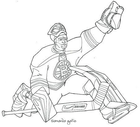 Boston Bruins Coloring Pages 5 Globalchin Coloring