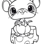 mouse littlest pet shop coloring sheet