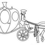 Enchanting Pumpkin Cinderella Carriage Coloring Picture