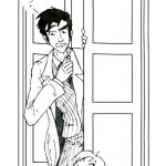 amazing doctor who coloring and drawing pages