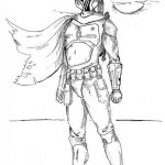 best boba fett coloring pictures