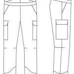 perfect pants coloring printable page