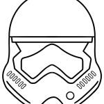 stormtrooper armor helmet coloring page