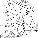 violently tornado air coloring page