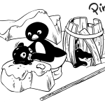 Best Pingu Coloring Page for Children