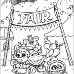 Fantastic Muppet babies Disney coloring pages