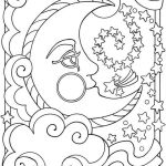 Moonshine Coloring Page Illustration