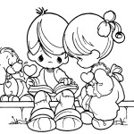precious moments love and romance reading a book coloring pages