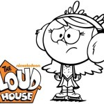 the loud house coloring page