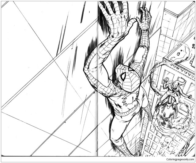 Amazing Spider Man 24 Coloring Pages - Coloring Pages - Coloring