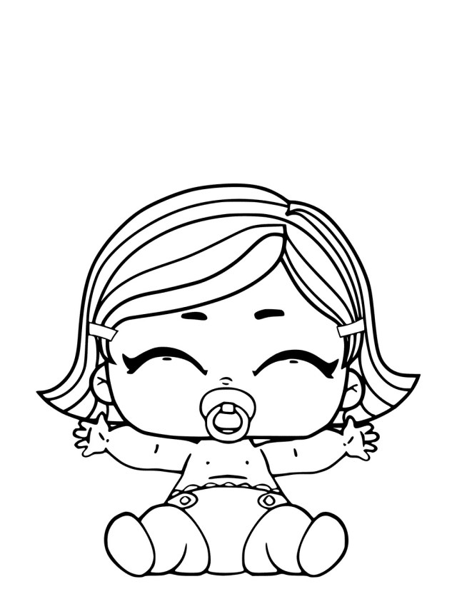 Lol Surprise Doll Coloring Pages - Coloring Pages For Kids And Adults