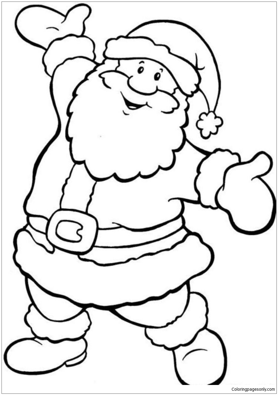 Christmas Throughout Coloring Page Free Coloring Pages Online
