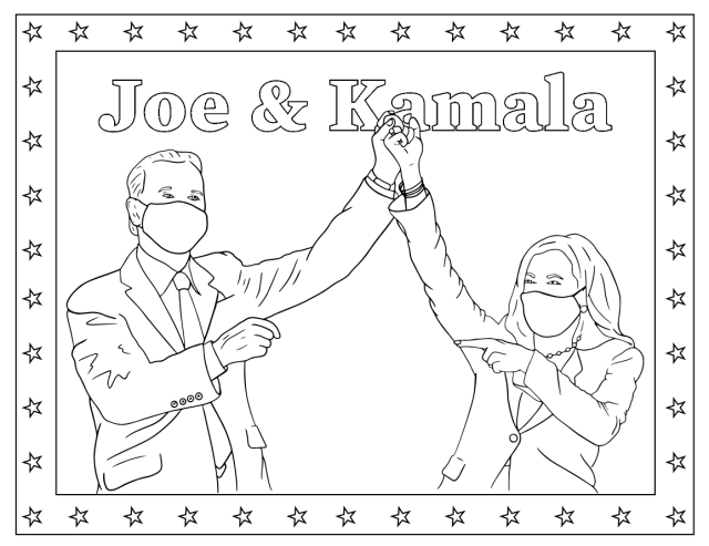 Joe Biden Coloring Pages - Coloring Pages For Kids And Adults